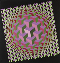 ulton by victor vasarely