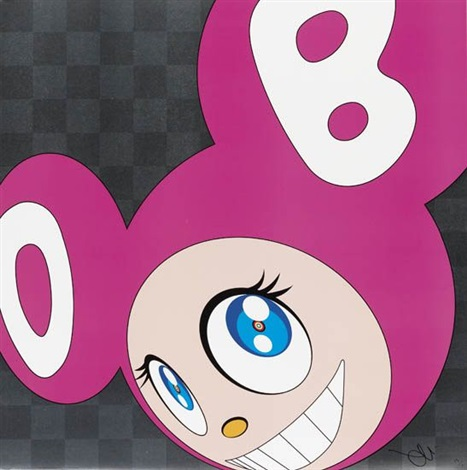 and then and then and then and then and then pink by takashi murakami