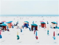 deauville beach by massimo vitali