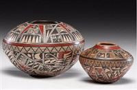 pottery bowls (set of 2) by rondina huma