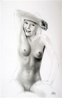 jeune femme nue by aslan