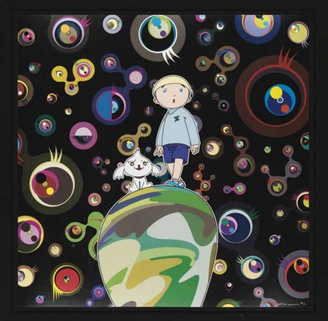 jelly fish eyes max shimon in the strange forrest by takashi murakami