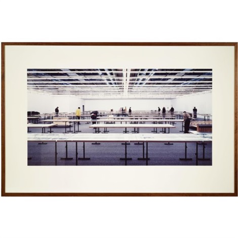 centre pompidou by andreas gursky