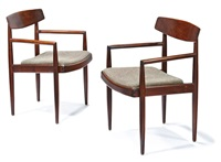 armchairs (2) by sam maloof