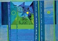 mouvement bleu by nils udo