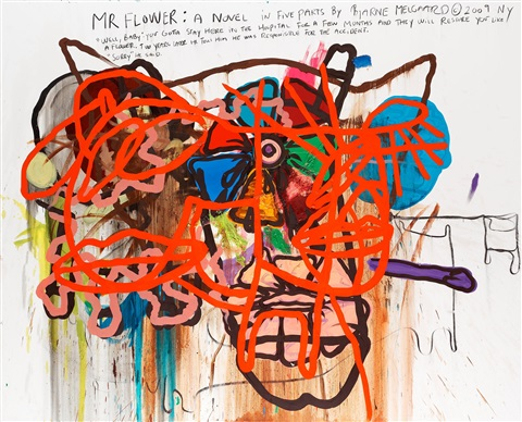 untitled by bjarne melgaard