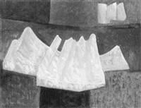 abstrakte komposition by carl heinz krug