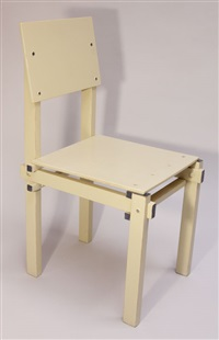 military chair by gerrit thomas rietveld