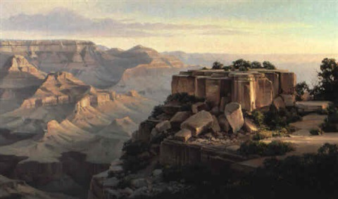 moran point, grand canyon by charles h. pabst
