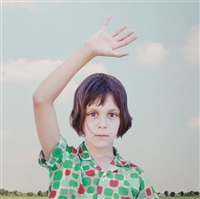 the waving girl by loretta lux