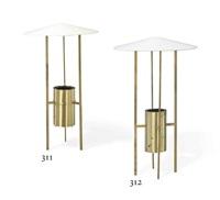 four-legged floor lamp by philip johnson and richard kelly
