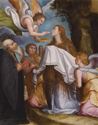 the last communion of mary magdalene by alessandro di cristofano allori
