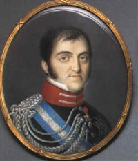 fernando vii, king of spain and the indies by luis de la (el canario) cruz y ríos