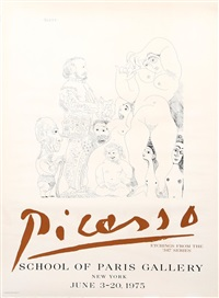 school of paris gallery by pablo picasso