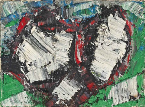 nouvelles impressions no. 46 by jean paul riopelle