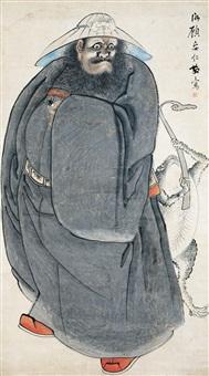 钟馗 (figure) by gu anren