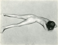 nude on sand by edward weston