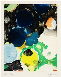 o.t. by ernst wilhelm nay