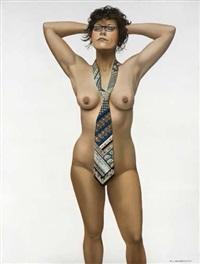 trompe l'oeil. hommage à magritte by remi van den abeele