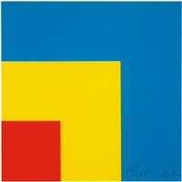 red/yellow/blue by ellsworth kelly
