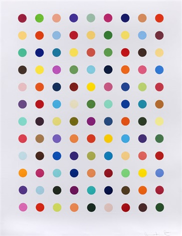 flumequine by damien hirst
