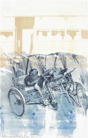 dream cycle from ground rules by robert rauschenberg
