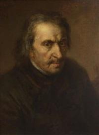 Johann <b>Georg Josef</b> Edlinger - johann-georg-josef-edlinger-bildnis-eines-alten-mannes