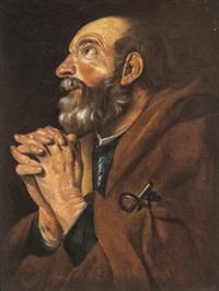 der heilige petrus by theodor van baburen