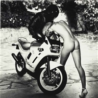 helmut's angels for playboy, pictorial outtakes, may (2 works) by helmut newton