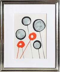 lollipops from derrier le mirroir by alexander calder