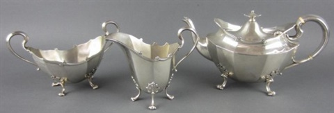 tea service set of 3 by philip hanson abbot