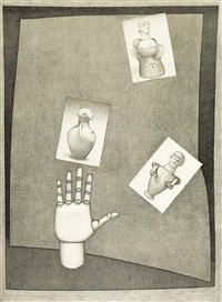 a hand with the etruscans by john brack