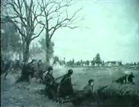 soldaten in der schlacht by henri-charles-e. dujardin-beaumetz