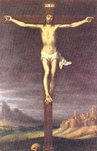 cristo crucificado by juan (fray) sanchez y cotan