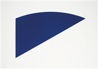 untitled (from eight by eight to celebrate the temporary contemporary portfolio) by ellsworth kelly