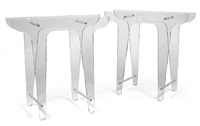 prototype of a pair of table supports by michael young