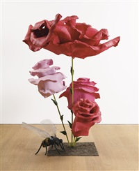 rose 42 with bee (in 2 parts) by will ryman