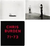 chris burden 71-73 (binder w/53 works) by chris burden