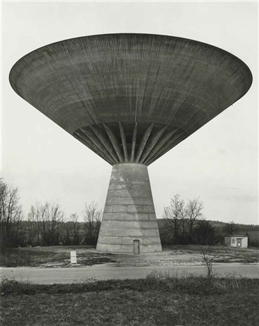 water tower dole jura france by bernd and hilla becher