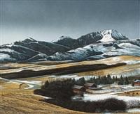 heavy skies, d u ranch by william (bill) h. webb