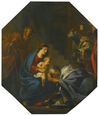 the adoration of the magi by jan miel