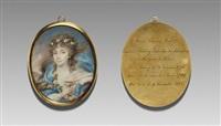 countess marie-françoise esterházy, born de baudry, marquise roisin (1776-1845), as hebe by friedrich heinrich füger