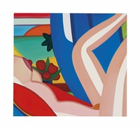 sunset nude #7 by tom wesselmann