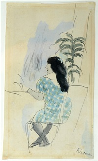 girl by jules pascin