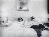andy warhol and gerard malanga by harry shunk
