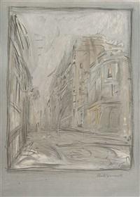 la rue d'alésia by alberto giacometti