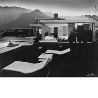 kaufmann house, palm springs by julius shulman