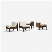 lounge chairs (set of 4) by isamu kenmochi