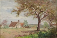 farm near gien, france by lucien bleyfus