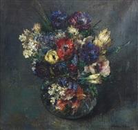 petit vase de fleurs by walter vaes